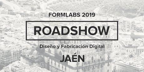 Formlabs Jaén RoadShow 2019 entradas