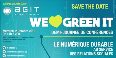 WE LOVE GREEN IT 2019 billets