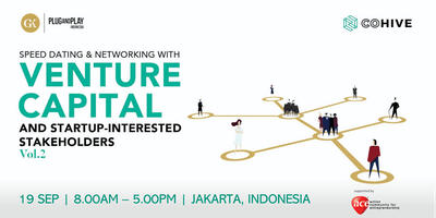 COHIVE Speed Dating & Networking with Indonesia VCs
