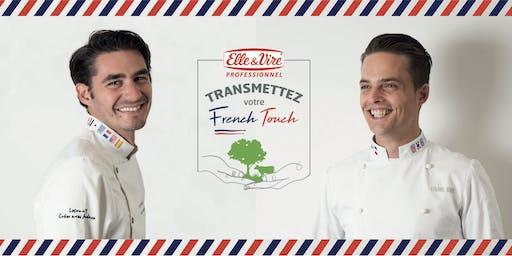 Démonstration de pâtisserie par Etienne Leroy et Jérôme De Oliveira
