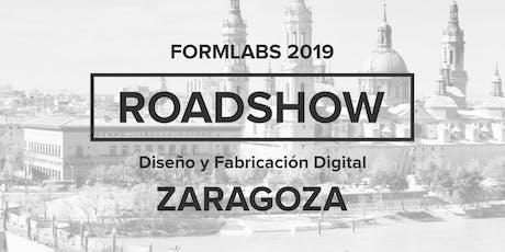 Formlabs Zaragoza RoadShow 2019 entradas