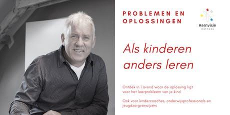 Informatieavond Kernvisie methode Veenendaal tickets
