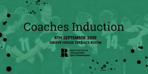 Sport Roehampton Coaches induction
