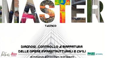 Master in Diagnosi, Controllo e Mappatura delle Opere Infrastrutturali e Civili