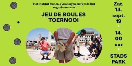 Jeu de boules toernooi 2019 • Tournoi de pétanque • Groningen tickets