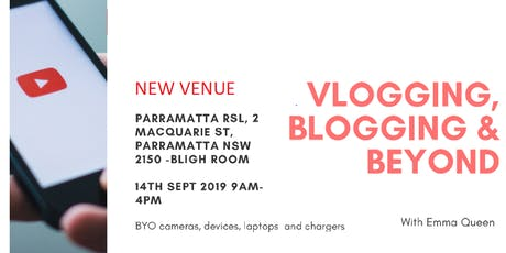 AICI Sydney Education Day - VLOGGING, BLOGGING & BEYOND tickets