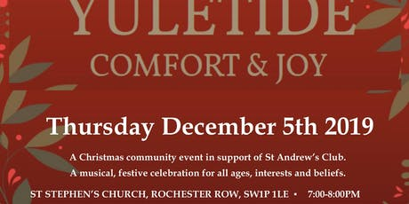 Yuletide Comfort & Joy tickets