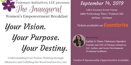 Inaugural Women's Empowerment Breakfast tickets