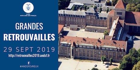 Retrouvailles Notre-Dame Saint-François 2019 billets