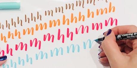 Beginner's Modern Brush Calligraphy Workshop tickets