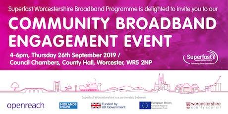 Community Broadband Engagement Event tickets