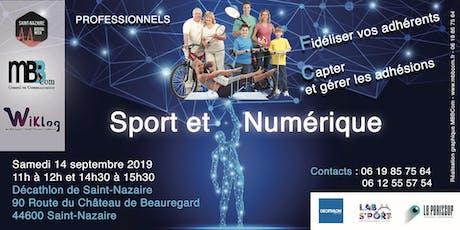 Sport et numérique billets