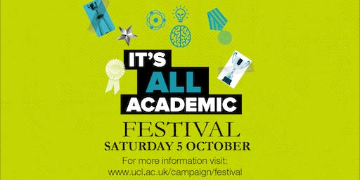 UCL It's All Academic Festival 2019: UCL Mental Health Podcast - Live! (14:30)