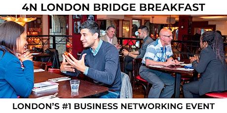 Business Networking   London Bridge Breakfast   Grow your business!  tickets