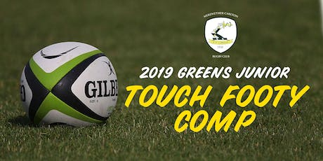 Merewether Carlton Junior Touch Footy Comp 2019 tickets
