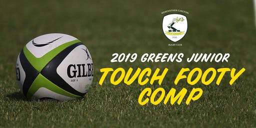 Merewether Carlton Junior Touch Footy Comp 2019