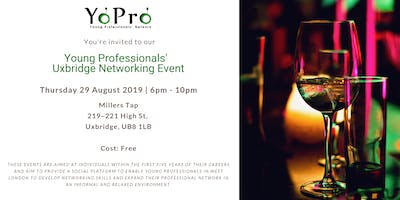 Young Professionals' Uxbridge Networking Event - 29 August 2019