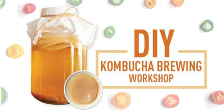 DIY Kombucha Brewing Workshop tickets