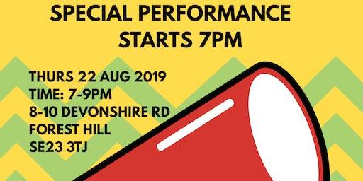 FREE Summer Event Afro Street Dance & Fitness Performance & Workshop