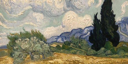 Vincent van Gogh – Landscape painting class in Kunsthaus