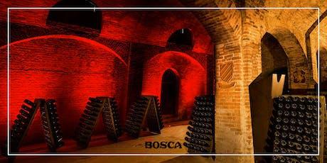 Visite guidée aux Caves Bosca le 11 Septembre  2019 à 11h biglietti