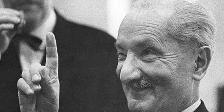 Dead Philosophers Club: On  Heidegger, Technology and Poetic Existence tickets