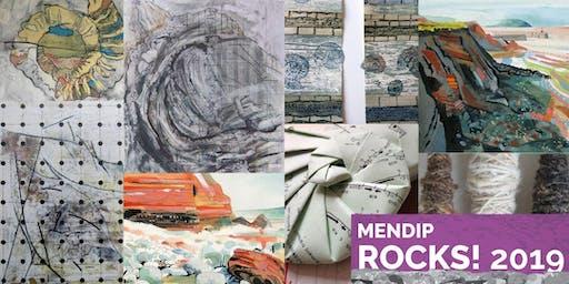 "Mendip Rocks Art Exhibition: ""Marking Time"" at SESC"