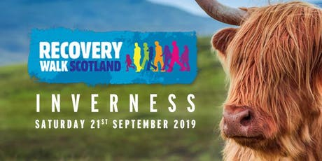 Recovery Walk Scotland 2019 - Inverness tickets