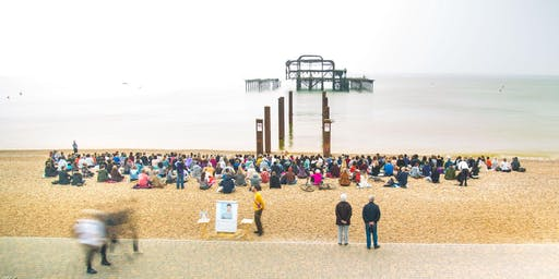 August - FREE BEACH MEDITATION: At West Pier, Brighton Beach