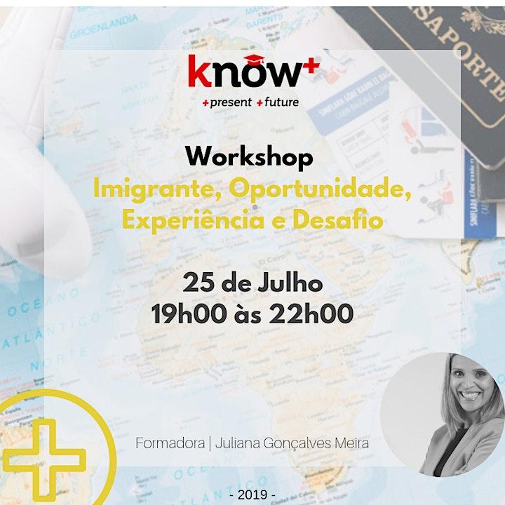 imagem Workshop | Imigrante, Opotunidade, Experiência e Desafio