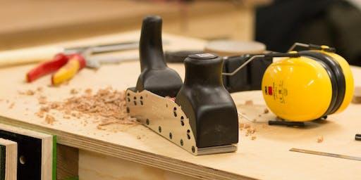 Einführung in die Holzwerkstatt - Couchtisch aus massiver Esche