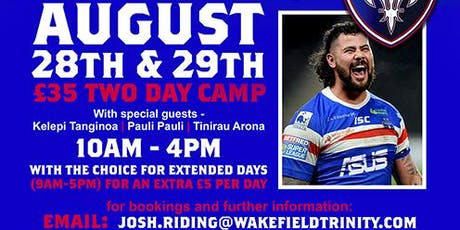 David Fifitas Big Bopper Camp tickets
