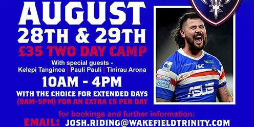 David Fifitas Big Bopper Camp