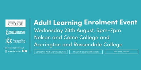 Adult Learning Enrolment Event tickets