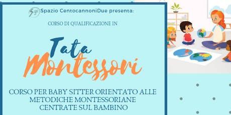 Corso di qualificazione per Tata Montessori biglietti