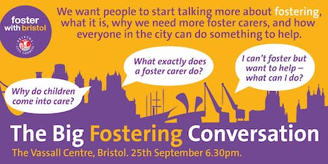 The BIG Fostering Conversation  tickets