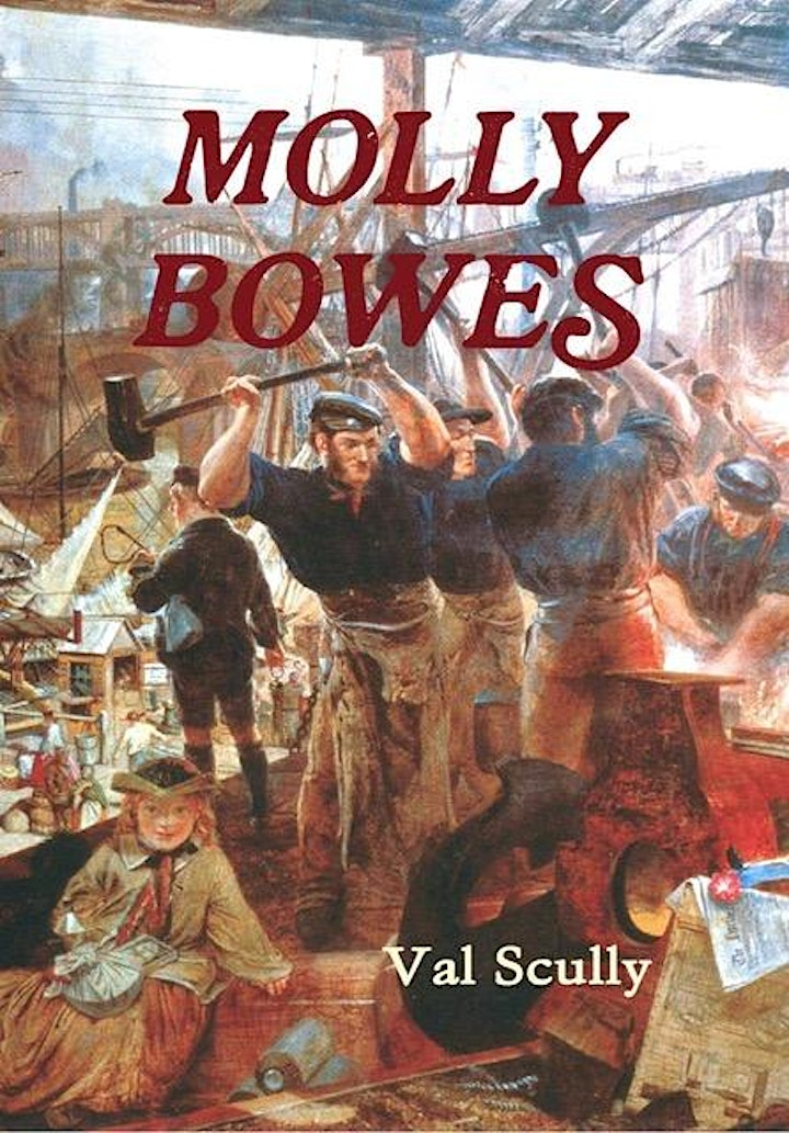 'Molly Bowes' illustrated talk image