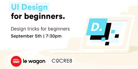 UI Design for beginners. tickets