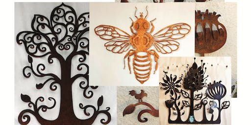Design and Make your own Metal Wall Sculpture (Saturday morning)