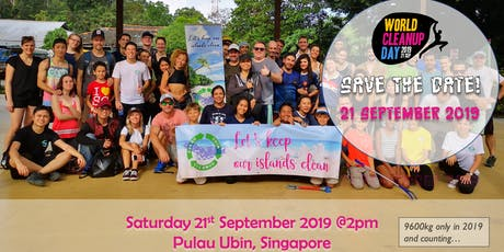 World Cleanup Day @Pulau Ubin tickets