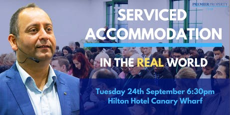 Serviced Accommodation in the Real World: The Systems, Processes and Hacks for Success tickets