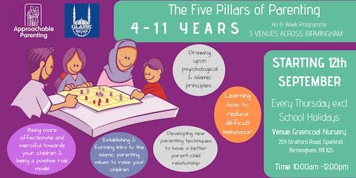 The Five Pillars of Parenting: 4-11 Parenting Programme