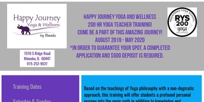 Fall 2019 Yoga Alliance 200hr Teacher Training