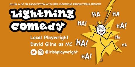 Lightning Comedy D'Lanigans  tickets