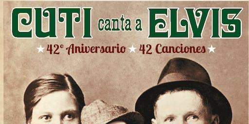 Cuti canta a Elvis / Las Armas - Zaragoza