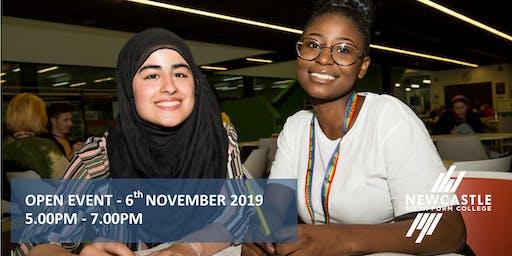 Open Event - November 2019