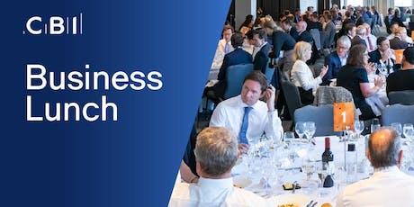 CBI Business Lunch - Lincolnshire tickets