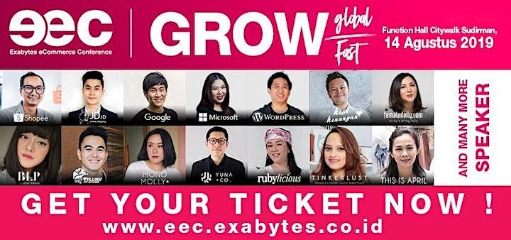 Exabytes eCommerce Conference (EEC) Indonesia 2019 image