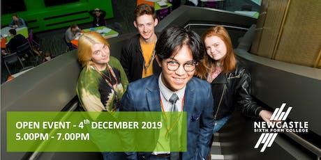 Open Event - December 2019 tickets