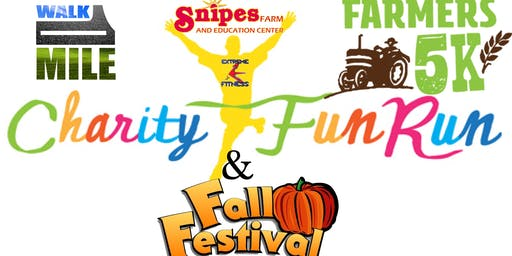 The children's charity fun run and fall festival.
